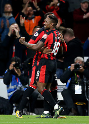 AFC Bournemouth's Jermain Defoe celebrates scoring his side's second goal of the game