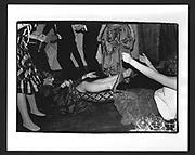 Sasha Squire during the Gosh Ball. Park Lane Hotel. London. 4 May 1983.
