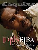 October 14, 2021 - WORLDWIDE: Idris Elba Covers Esquire Magazine October/November 2021 Issue