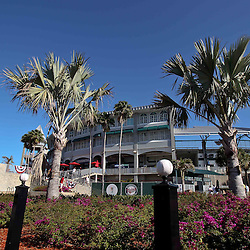 March 13, 2011; Fort Myers, FL, USA; A general view outside before a spring training exhibition game between the Philadelphia Phillies and the Minnesota Twins at Hammond Stadium.  Mandatory Credit: Derick E. Hingle-US PRESSWIRE