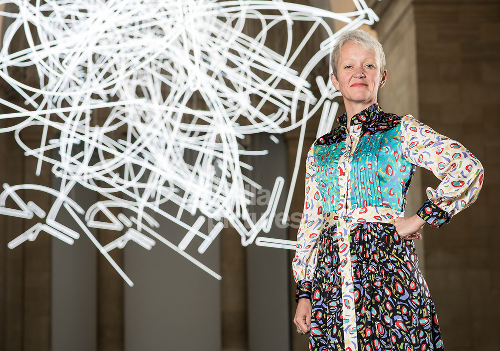 Director of Tate, Maria Balshaw, pictured at Tate Gallery, Britain, Westminster.<br /> Picture by Daniel Hambury/Stella Pictures Ltd 07813022858<br /> 03/07/2017