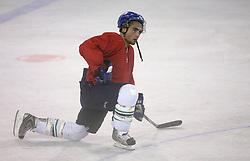 Player Tarantela of Canada at second ice hockey practice of HDD Tilia Olimpija on ice in the new season 2008/2009, on August 19, 2008 in Hala Tivoli, Ljubljana, Slovenia. (Photo by Vid Ponikvar / Sportal Images)