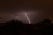 Lightning bolt Photographed in Israel in October