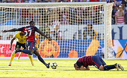 July 26, 2017 - Santa Clara, CA, USA - Santa Clara, CA - Wednesday July 26, 2017: Jozy Altidore during the 2017 Gold Cup Final Championship match between the men's national teams of the United States (USA) and Jamaica (JAM) at Levi's Stadium. (Credit Image: © Bob Drebin/ISIPhotos via ZUMA Wire)