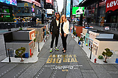 October 13, 2021 - NY: America's Big Deal Times Square Small Business District VIP Preview