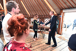 September 12, 2018 - Bristol, London, United Kingdom - Image licensed to i-Images Picture Agency. 11/09/2018. Bristol, United Kingdom. Prince William, Duke Of Cambridge at the launch of Mental Health At Work at The Engine Shed  in Bristol, United Kingdom. (Credit Image: © Pool/i-Images via ZUMA Press)