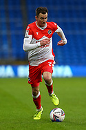 Millwall's Jed Wallace (7) dribbles towards goal during the EFL Sky Bet Championship match between Cardiff City and Millwall at the Cardiff City Stadium, Cardiff, Wales on 30 January 2021.
