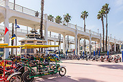 Deuce Coupe Specialty Cycle Rentals at Oceanside Pier