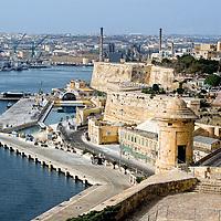Vittorio and Grand Harbour, Malta