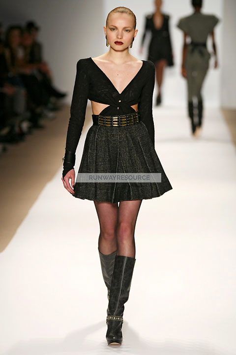 Katty wearing the Charlotte Ronson Fall 2009 Collection