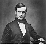 Joseh Lister (1827-1912), English surgeon and pioneer of antiseptic surgery, c1855. From a daguerreotpe taken when he was about 28.  Photograph.
