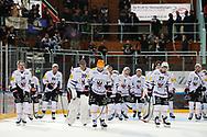 Die Spieler von Fribourg sind enttaeuscht nach Spiel der National League zwischen den SC Rapperswil-Jona Lakers und dem HC Fribourg-Gotteron, am Freitag, 22. Oktober 2021, in der St. Galler Kantonalbank Arena Rapperswil-Jona. (Thomas Oswald)