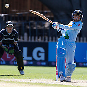 Anjum Chopra batting during the match between New Zealand and India in the Super 6 stage of the ICC Women's World Cup Cricket tournament at North Sydney  Oval, Sydney, Australia on March 17, 2009. Photo Tim Clayton