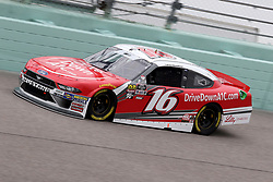 November 16, 2018 - Homestead, FL, U.S. - HOMESTEAD, FL - NOVEMBER 16: Ryan Reed, driver of the #16 Drive Down A1C Lilly Diabetes Ford, during practice for the NASCAR Xfinity Series playoff race, the Ford EcoBoost 300 on November, 16, 2018, at Homestead - Miami Speedway in Homestead, FL. (Photo by Malcolm Hope/Icon Sportswire) (Credit Image: © Malcolm Hope/Icon SMI via ZUMA Press)