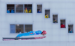 31.12.2017, Olympiaschanze, Garmisch Partenkirchen, GER, FIS Weltcup Ski Sprung, Vierschanzentournee, Garmisch Partenkirchen, Training, im Bild Vincent DescombesSevoie (FRA) // Vincent DescombesSevoie of France during his Practice Jump for the Four Hills Tournament of FIS Ski Jumping World Cup at the Olympiaschanze in Garmisch Partenkirchen, Germany on 2017/12/31. EXPA Pictures © 2017, PhotoCredit: EXPA/ Jakob Gruber