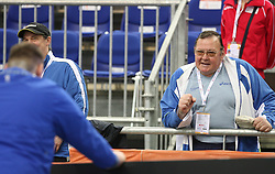Coach Marjan Stimec at the 2nd day of  European Athletics Indoor Championships Torino 2009 (6th - 8th March), at Oval Lingotto Stadium,  Torino, Italy, on March 6, 2009. (Photo by Vid Ponikvar / Sportida)