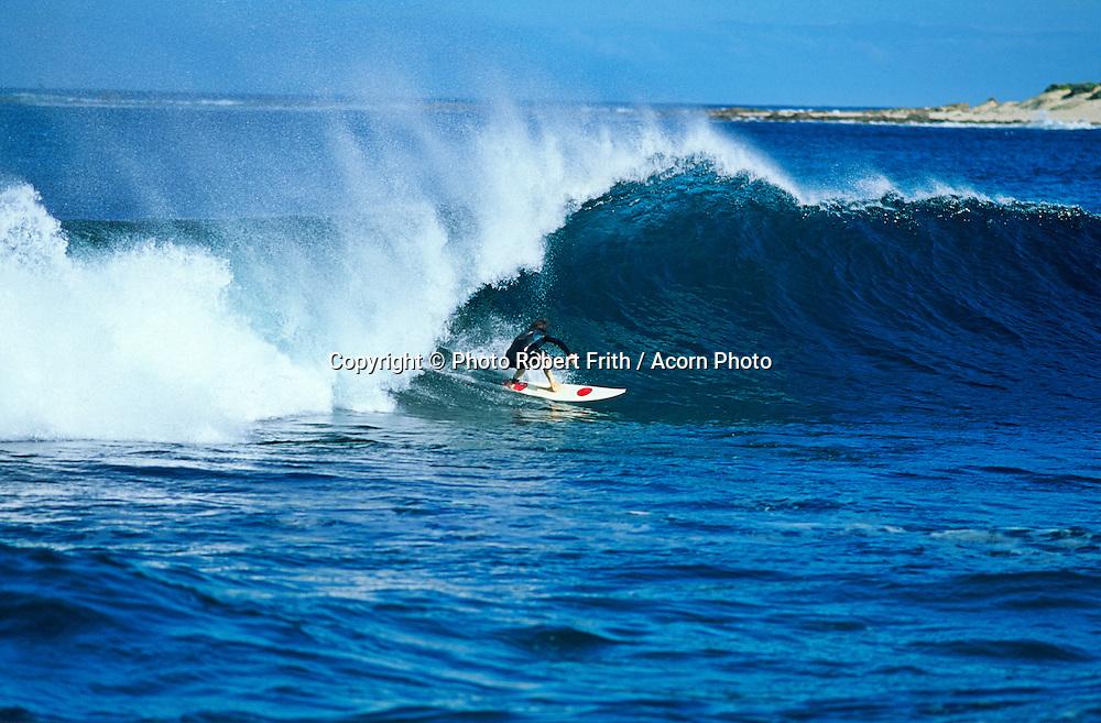 Surfing off Yallingup