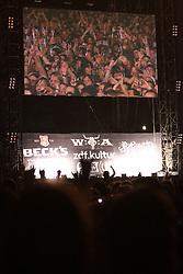 05.08.2011, Wacken, GER, W:O:A Wacken Open Air 2011, im Bild bis spaet in die Nacht feiern die Fans vor der Buehne, EXPA Pictures © 2011, PhotoCredit: EXPA/ nph/  Kohring       ****** out of GER / CRO  / BEL ******