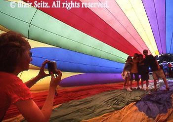 Hot Air Balloons, York Co., PA, Parks Festival, Pennsylvania