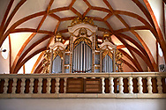 Organ of  Prejmer Fortified Church, Transylvania. Unesco World Heritage Site. .<br /> <br /> Visit our ROMANIA HISTORIC PLACXES PHOTO COLLECTIONS for more photos to download or buy as wall art prints https://funkystock.photoshelter.com/gallery-collection/Pictures-Images-of-Romania-Photos-of-Romanian-Historic-Landmark-Sites/C00001TITiQwAdS8<br /> .<br /> Visit our MEDIEVAL PHOTO COLLECTIONS for more   photos  to download or buy as prints https://funkystock.photoshelter.com/gallery-collection/Medieval-Middle-Ages-Historic-Places-Arcaeological-Sites-Pictures-Images-of/C0000B5ZA54_WD0s