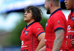 Gaston Cortes of Bristol Rugby - Photo mandatory by-line: Patrick Khachfe/JMP - Mobile: 07966 386802 27/05/2015 - SPORT - RUGBY UNION - Worcester - Sixways Stadium - Worcester Warriors v Bristol Rugby - Greene King IPA Championship Play-off Final (Second leg)