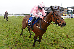 Ah Littleluck ridden by Andrew Lynch wins the Fairyhouse Steel Handicap Hurdle during BoyleSports Irish Grand National Day of the 2018 Easter Festival at Fairyhouse Racecourse, Ratoath, Co. Meath.