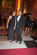 FRANCESCA VERSACE; NICHOLAS PORTER, Hollywood Costume gala dinner, V and A. London. 16 October 2012