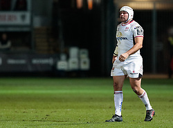 Ulster Rugby's Rory Best<br /> <br /> Photographer Simon King/Replay Images<br /> <br /> Guinness Pro14 Round 10 - Dragons v Ulster - Friday 1st December 2017 - Rodney Parade - Newport<br /> <br /> World Copyright © 2017 Replay Images. All rights reserved. info@replayimages.co.uk - www.replayimages.co.uk