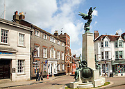 War memorial, Lewes town centre, East Sussex, England