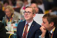 DEU, Deutschland, Germany, Hamburg, 07.12.2018: Philipp Amthor (MdB, CDU) beim Bundesparteitag der CDU in der Messe Hamburg.