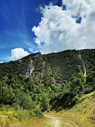Mountains in the Drôme , France