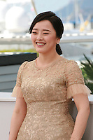 Singer Kwon So-Hyun at the Madonna film photo call at the 68th Cannes Film Festival Tuesday May 20th 2015, Cannes, France.