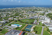 Sports fields at Wildey, St. Michael, Barbados.