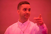 Eddie Peake (pictured) 'Concrete Pitch', a new exhibition, in the South Gallery, White Cube Bermondsey.