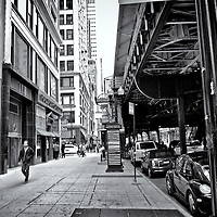 Street Scene<br />editted, converted to B&W 2/16/15