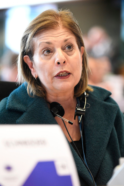 12 May 2017, 123rd Plenary Session of the European Committee of the Regions <br /> Belgium - Brussels - May 2017 <br /> <br /> LOUKAIDOU Eleni <br /> © European Union / Fred Guerdin