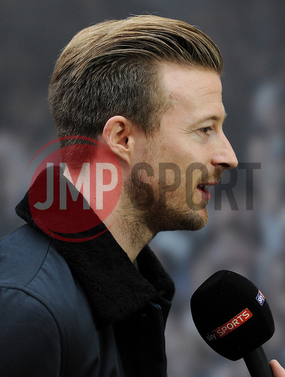 Bristol City's Wade Elliott is interviewed - Photo mandatory by-line: Dougie Allward/JMP - Mobile: 07966 386802 - 11/03/2015 - SPORT - Football - Bristol - Cabot Circus Shopping Centre - Johnstone's Paint Trophy