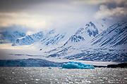 Iceberg in Kongsfjord, Ny Alesund, Svalbard