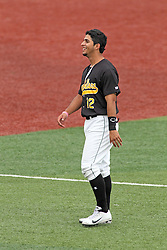 06 July 2013:  Santiago Chirino during a Frontier League Baseball game between the Gateway Grizzlies and the Normal CornBelters at Corn Crib Stadium on the campus of Heartland Community College in Normal Illinois