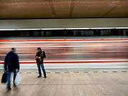 Dejvicka subway station.