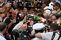 ROSBERG nico (ger) mercedes gp mgp w06 ambiance portrait celebrating victory  during the 2015 Formula One World Championship, Grand Prix of Monaco from on May 24th 2015,  in Monaco. Photo Jean Michel Le Meur / DPPI
