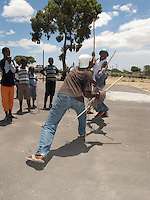 The ancient art of stick fighting, practised for centuries among rural herdboys, is making a comeback in the bleak shack landscape of South Africa's Cape Town townships.