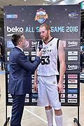 DESCRIZIONE : Trento Beko All Star Game 2016<br /> GIOCATORE : Alessandro Mamoli Alex Kirk<br /> CATEGORIA : Intervista Postgame<br /> SQUADRA : Cavit All Star Team Sky Sport TV<br /> EVENTO : Beko All Star Game 2016<br /> GARA : Dolomiti Energia All Star Team - Cavit All Star Team<br /> DATA : 10/01/2016<br /> SPORT : Pallacanestro <br /> AUTORE : Agenzia Ciamillo-Castoria/L.Canu