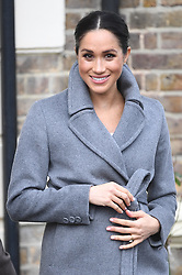 December 18, 2018 - London,United Kingdom - The Duchess of Sussex at Brinsworth House. Meghan, The Duchess of Sussex visits  Brinsworth House, Twickenham. (Credit Image: © Andrew Parsons/i-Images via ZUMA Press)