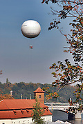 Czech Republic, Prague sightseeing ride in a balloon