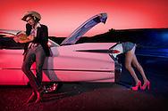 American Dreamscapes /  Pink Cadillac