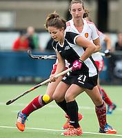 BREDA (Neth.)  Courtney Winterbottom  of NZ during the match  New Zealand vs England U21 women . Volvo Invitational Tournament U21. COPYRIGHT KOEN SUYK