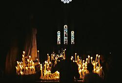 Lighting Candles At The Basilica of the Sacré CÅur, Montmartre, Paris