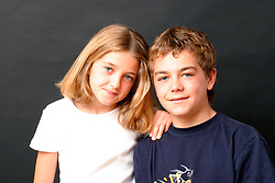 Girl aged 9 & boy aged 12 - brother & sister UK