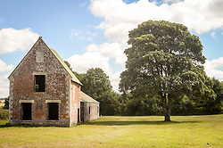 Seagram's Farm in Imber village on Salisbury Plain, Wiltshire, where residents were evicted in 1943 to provide an exercise area for US troops preparing to invade Europe. Roads through the MoD controlled village are now open and will close again on Monday August 22.